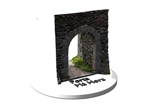 Porta da Má Hora ou do Sol 3D Model