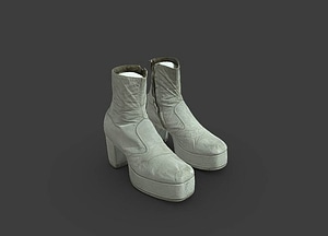 Costume Boots for the Wizard in The Wiz 3D Model