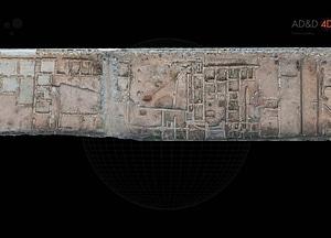 Roman Villa near Castellón in Spain 3D-model
