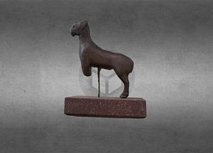 Figure of a horse, MG 012 3D Model