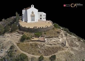 Ermita de Santa Lucía near Alcalá of Castellón 3D-model