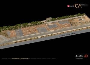 Vinamargo near Castellon in Spain 3D-model