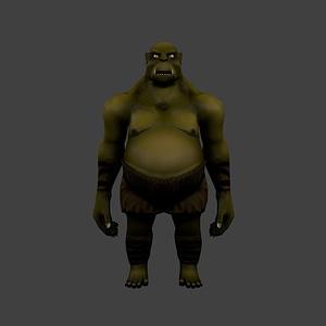 Ogre modelo 3D