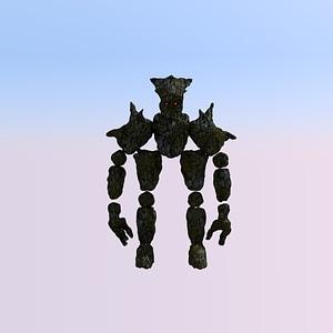 Rock Golem modelo 3D