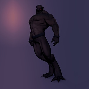 Warewolf modelo 3D