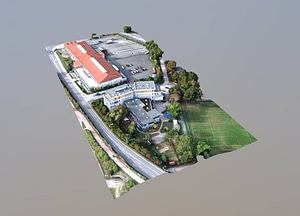 LEONARDO Freie Ganztagsschule & POM Jena 3D Model