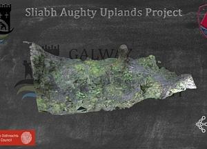 Derryoober Vernacular Earth Cut House Site 3D-model
