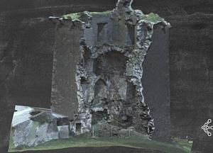 Renvylle Castle 3D-model