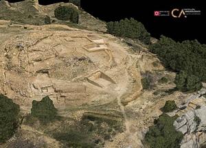 Los Morrones of Castellón in Spain 3D-model