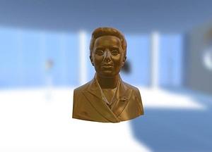 Yolanda Barco Bust 3D Model