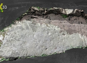 Knockbrack Rock Art 3D-model