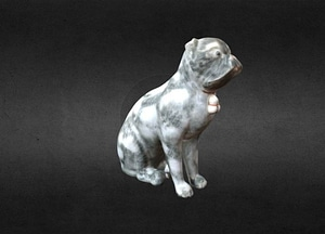 MG 113 a Pug (one of a pair) 3D Model
