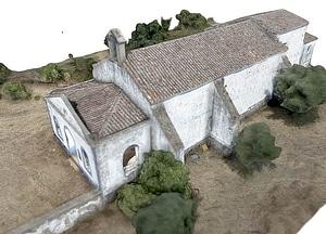 Ermida de São Pedro da Ribeira 3D Model
