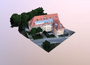 Jena city administration 3D Model