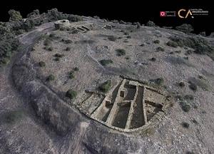 Els Estrets near Vilafamés of Castellón in Spain 3D-model