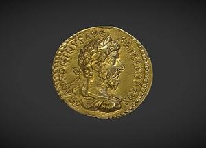 Aureus of Marcus Aurelius 3D Model