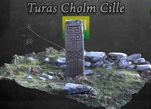 Station Twelve of Gleann Cholm Cille Turas 3D-model