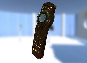 Time Warner SA Remote 3D Model