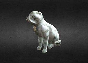 Porcelain Pug 3D Model
