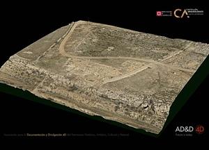 Lloma Comuna near Castellfort of Castellón 3D-model