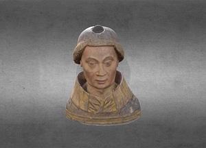 HCM 006 Reliquary Bust 3D Model