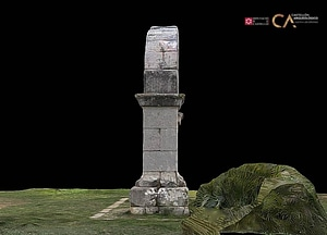 Arch of Cabanes in Spain 3D-model