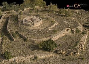 Torre De Foios near Lucena of Castellón in Spain 3D-model