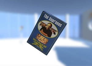 HBO's The Sopranos Tony's Macaroni Pasta 3D Model