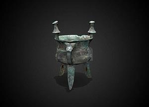 Jia wine vessel 3D Model