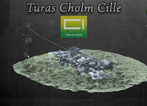 Station Three of Gleann Cholm Cille Turas 3D Model