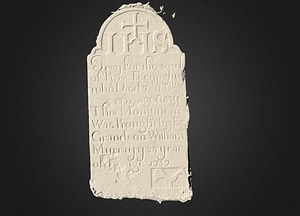 Moore South - Historic Graves - 119 3D Model