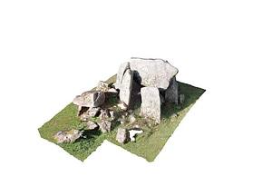 Dólmen   Anta Pequena da Comenda da Igreja 3D Model
