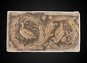 Birds with Foliage mosaic, late 4th-mid 5th c CE 3D Model