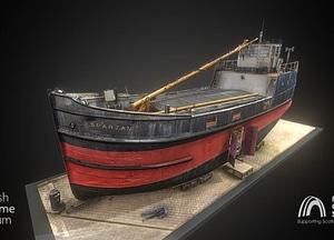 MV Spartan 3D Model