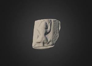 Cloontuskert Medeival Beast 3D Model