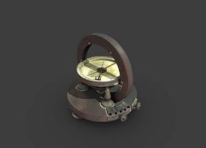 Western Electric Tangent Galvanometer 3D Model