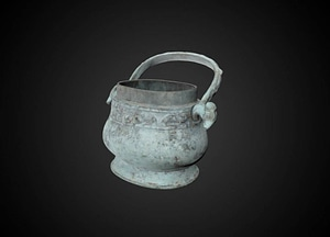 'Lei' wine vessel 3D Model