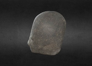 Neolithic Ground and Polished Axehead, HCA 124 3D Model