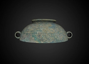 Vessel with Cover 3D Model