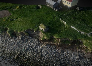 The site of Á Sondum on Faroe Islands 3D Model