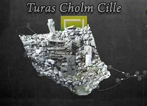 Station Six of Gleann Cholm Cille Turas 3D Model