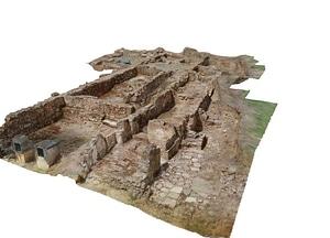 Montemor-o-Novo Castle Winery 3D-model