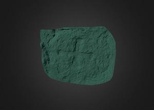 Cloontuskert Cross Slab 3D Model