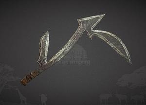 Pinga Throwing Knife modelo 3D