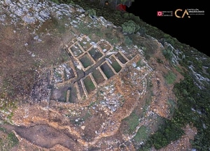 Mórtorum near Cabanes of Castellón in Spain 3D-model