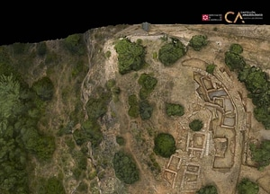 Torello near Almassora of Castellon in Spain 3D-model