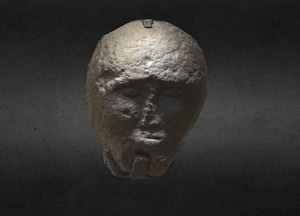 Cloghan Head 3D Model