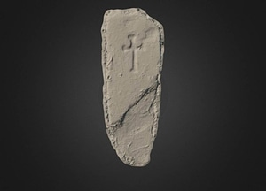 Mocmoyne archaeological artifact 3D Model