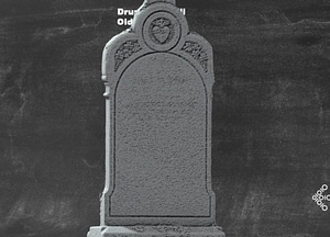 Drumgoon hill Old Graveyard Headstone 3D-model
