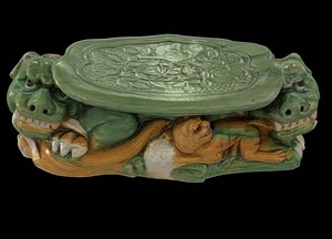 Headrest With Three Lions 3D-model